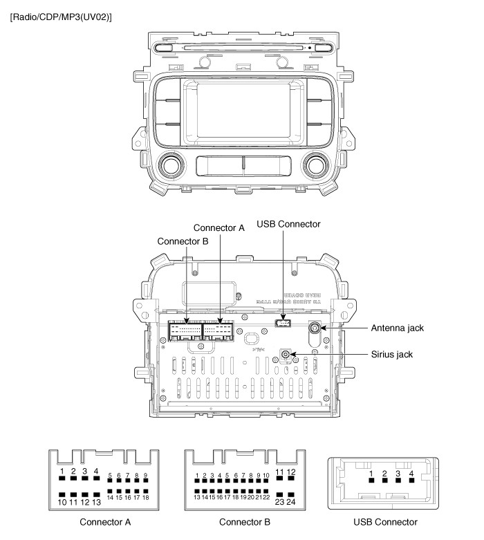 2014 Forte EX Stereo Wiring Harness Diagrams | Kia Forte Forum on a transmission diagram, a motor diagram, a roofing diagram, a regulator diagram, a radiator diagram, a body diagram, a fuse diagram, a relay diagram,