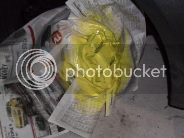 DIY: Paint Break Calipers (The Easy Way) | Kia Forte Forum