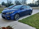 2019 Deep Sea Blue Kia Forte