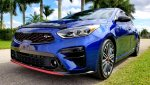 2020 Kia Forte GT Deep Sea Blue.