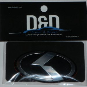 K Steering Wheel Badge
