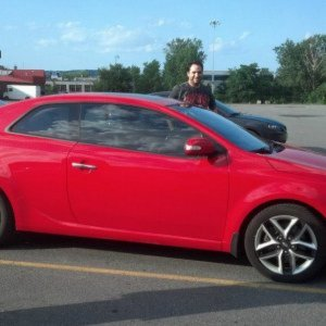 2010 Forte Koup SX - Racing Red