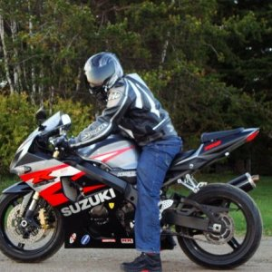 Me and my gsx-r