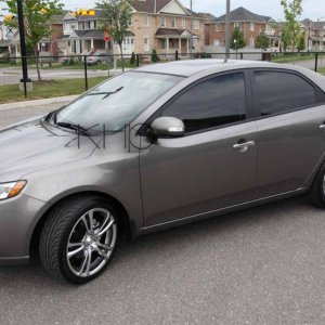 2010 Kia Forte EX - 5 speed