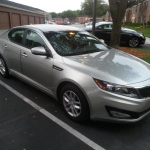 2013 Optima LX Satin Metal