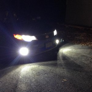 Right after installing- DiodeDynamics Full HID Conversion