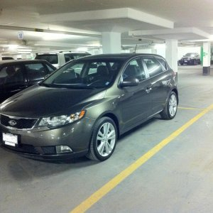 2011 Forte SX Hatchback, 6speed 2.4L